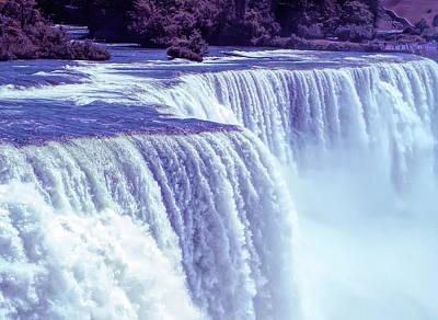 Photograph - Cool Sunset Niagara Falls 2 by Aimee L Maher Photography and Art Visit ALMGallerydotcom