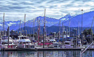 Photograph - Cool Sunset Seward Alaska 2 by Aimee L Maher ALM GALLERY