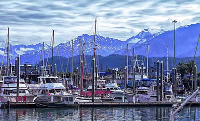 Photograph - Cool Sunset Seward Alaska 2 by Aimee L Maher Photography and Art Visit ALMGallerydotcom