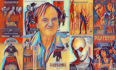 Grindhouse Photograph - Cool Tarantino by Pd