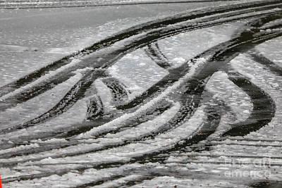 Photograph - Cool Tracks by Rick Bragan