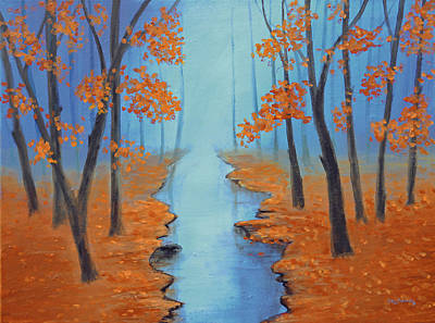 Cool Warmth Of Autumn Original by Ken Figurski