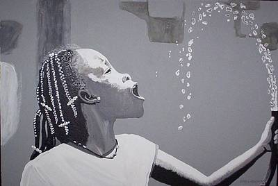 Painting - Cool Water by Otis L Stanley