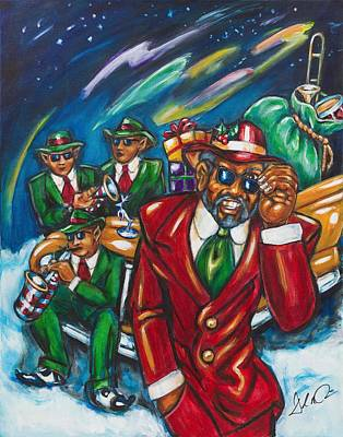 Painting - Cool Yule by Daryl Price