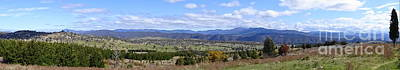 Photograph - Cooleman Ridge Panorama by Angela DeFrias
