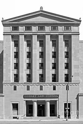 Schools Photograph - Cooley Law School by University Icons