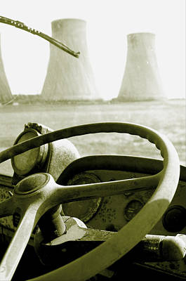 Art Print featuring the photograph Cooling Commer by Jez C Self