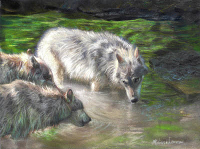 Pastel - Cooling Off by Melissa Herrin