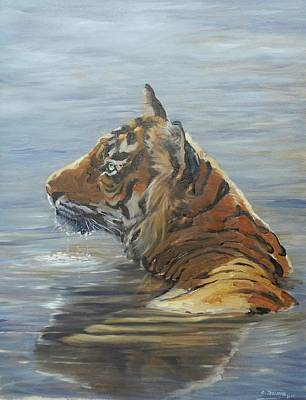 Painting - Cooling Off by Robert Teeling