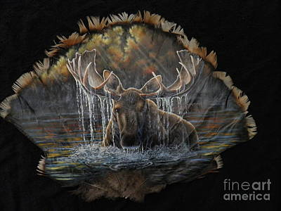 Painting - Cooling Off by Sherry Orchard