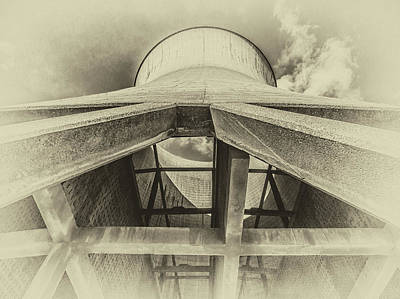 Photograph - Cooling Tower by Nick Bywater
