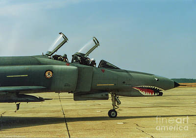 Mcdonnell Douglas F-4 Phantom Ii Photograph - Coon-ass Militia by Tommy Anderson