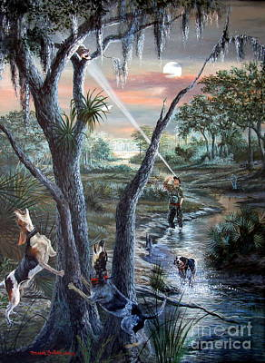 Coon Huntin The Backwoods- Original