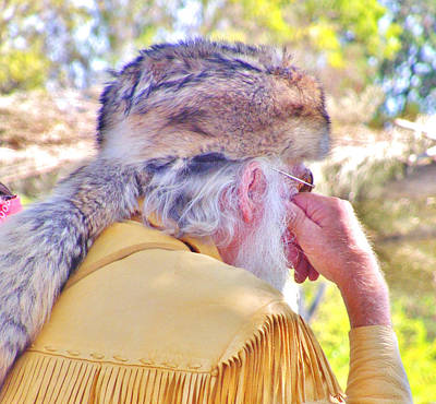 Photograph - Coonskin Hat by Marilyn Diaz