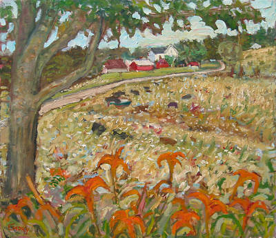 Painting - Cooper Mill Road by Paul Emory