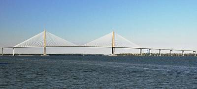 Cooper River Bridge Art Print