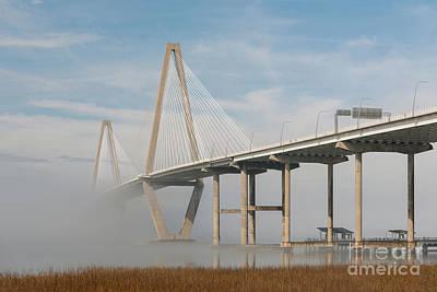 Photograph - Cooper River Morning Fog  by Dale Powell