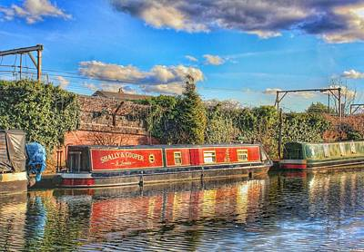 Photograph - Coopers Barge by Isabella F Abbie Shores FRSA