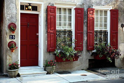 Red School House Photograph - Coordinated In Charleston by John Rizzuto
