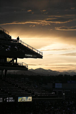 Coors Field At Sunset Original