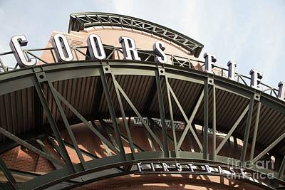 Photograph - Coors Field - Denver by David Bearden
