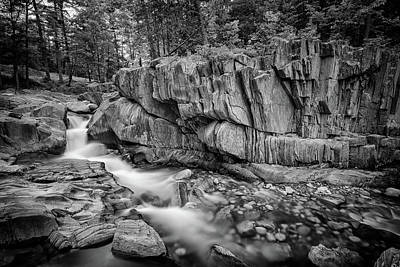 Photograph - Coos Canyon Black And White by Rick Berk