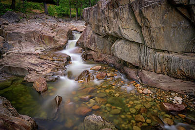 Photograph - Coos Canyon Maine by Rick Berk