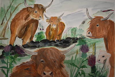 Painting - Coos by Susan Voidets