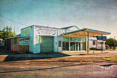 Photograph - Cootamundra Garage by Stuart Row