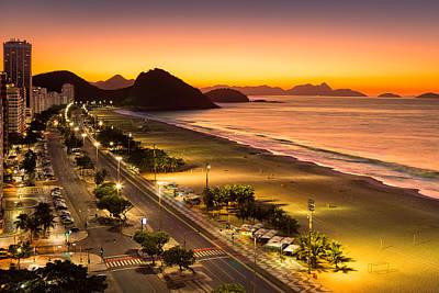 Photograph - Copacabana by Mihai Andritoiu