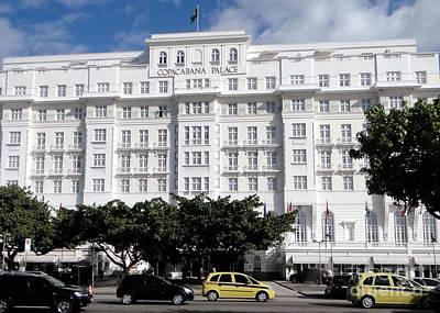 Photograph - Copacabana Palace by Barbie Corbett-Newmin