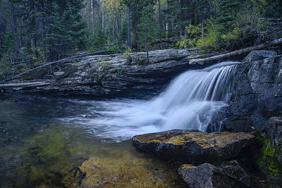 Photograph - Copeland Falls by Gary Lengyel