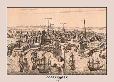 Photograph - Copenhagen 1618 by Andrew Fare