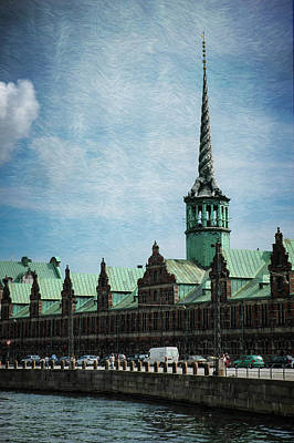 Photograph - Copenhagen 17th Century Stock Exchange Building by Mary Lee Dereske