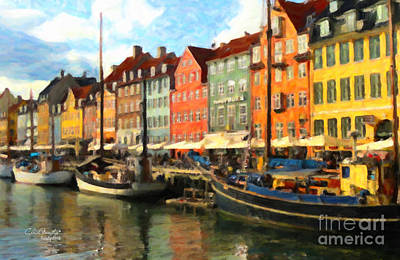 Painting - Copenhagen by Chris Armytage