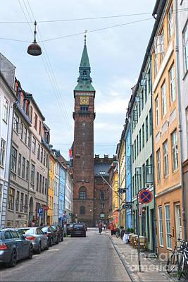 Photograph - Copenhagen City Hall by Catherine Sherman
