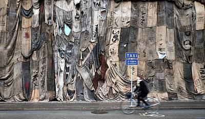 Copenhagen Denmark Digital Art - Copenhagen Denmark Bike Ride by Gordon Williams