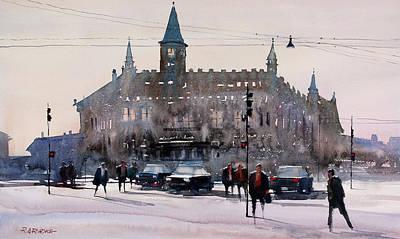 Painting - Copenhagen Denmark by Ryan Radke