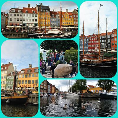 Photograph - Copenhagen - Nyhavn by Jacqueline M Lewis