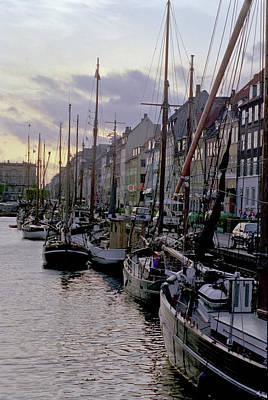 Copenhagen Quay Art Print