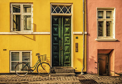 Photograph - Copenhagen Transportation by Mick Burkey