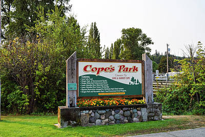 Photograph - Cope's Park by Tom Cochran