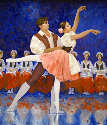 Painting - Coppelia by Kevin Lawrence Leveque