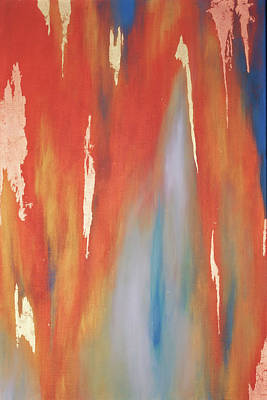 Painting - Copper Abstract 1 by Michelle Joseph-Long