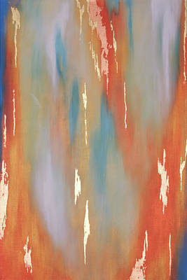 Painting - Copper Abstract 2 by Michelle Joseph-Long