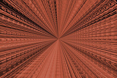 Digital Art - Copper Abstract by Aimee L Maher ALM GALLERY
