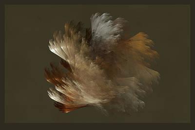 Digital Art - Copper And Metal Fiber Spray by AGeekonaBike Fine