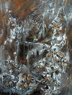 Painting - Copper And Mica by Joanne Smoley