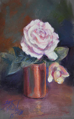 Copper And Rose Art Print