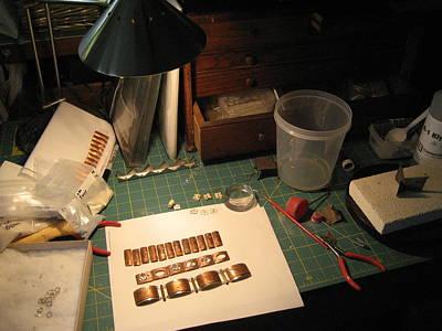 Jewelry - Copper Bracelets To Enamel by Brenda Berdnik